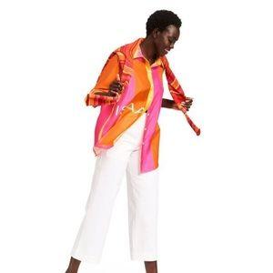 NWT Isaac Mizrahi Silk Blouse